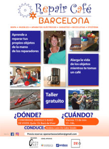 REPAIR CAFÉ BARCELONA @ SInergics Coworking